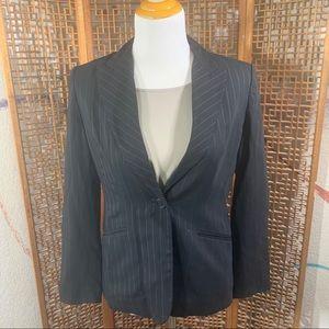 ANN TAYLOR Pinstripe Blazer Size 6P